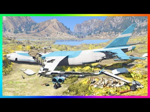 GTA 5 NO WATER EXPLORATION!! - UNDERWATER SECRETS, CRASHED CARGO PLANE, SEA MONSTERS & DEAD BODIES!!
