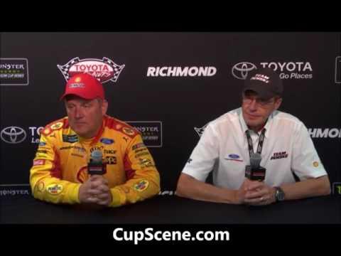 NASCAR at Richmond International Raceway, April, 2017:  Todd Gordon, Walter Czarnecki post race