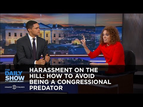 Thumbnail: Harassment on the Hill: How to Avoid Being a Congressional Predator: The Daily Show