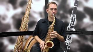 Cecilio AS-280 Alto Saxophone Demo