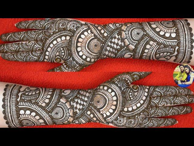 simple karva chauth mehandi design