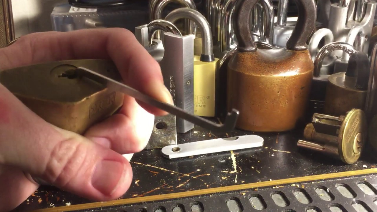 ey padlock dimple and regular pins picked open youtube