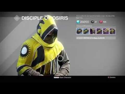 Trials of Osiris Loot #1