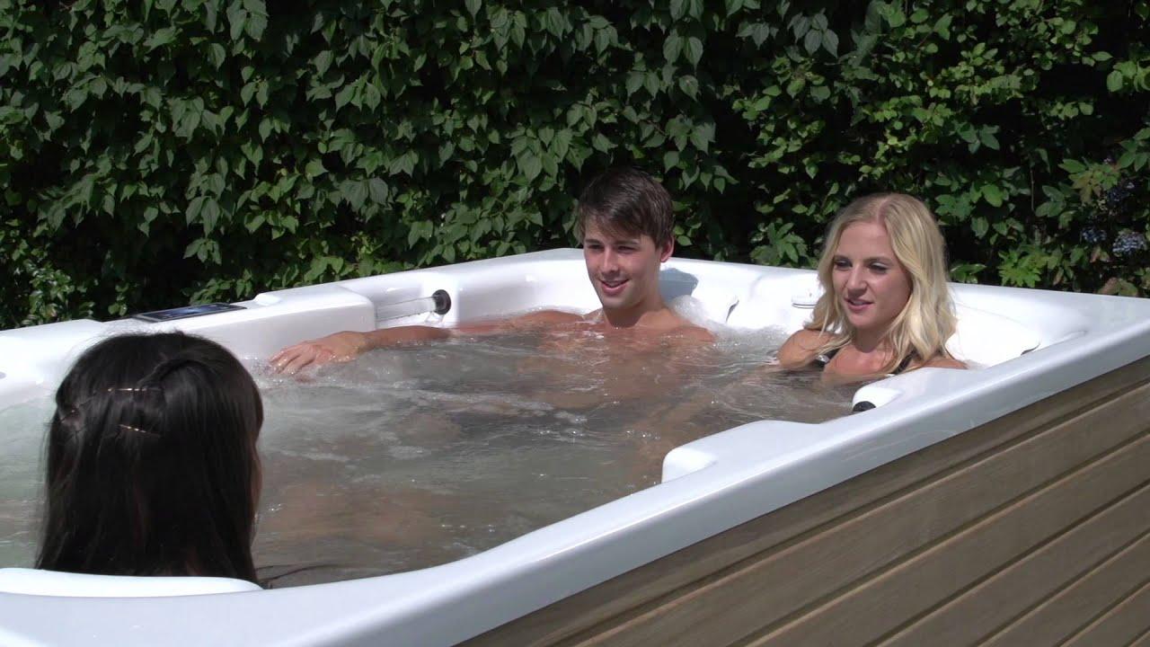 outdoor garten spa seastar nolimit ultra spa whirlpool youtube. Black Bedroom Furniture Sets. Home Design Ideas