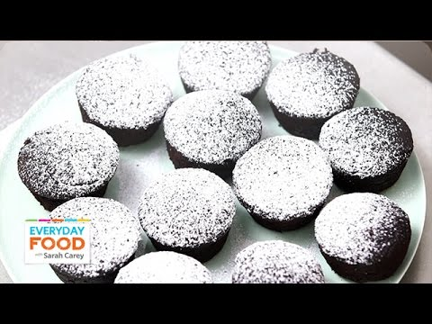 Peanut Butter Filled Chocolate Cupcakes - Everyday Food With Sarah Carey