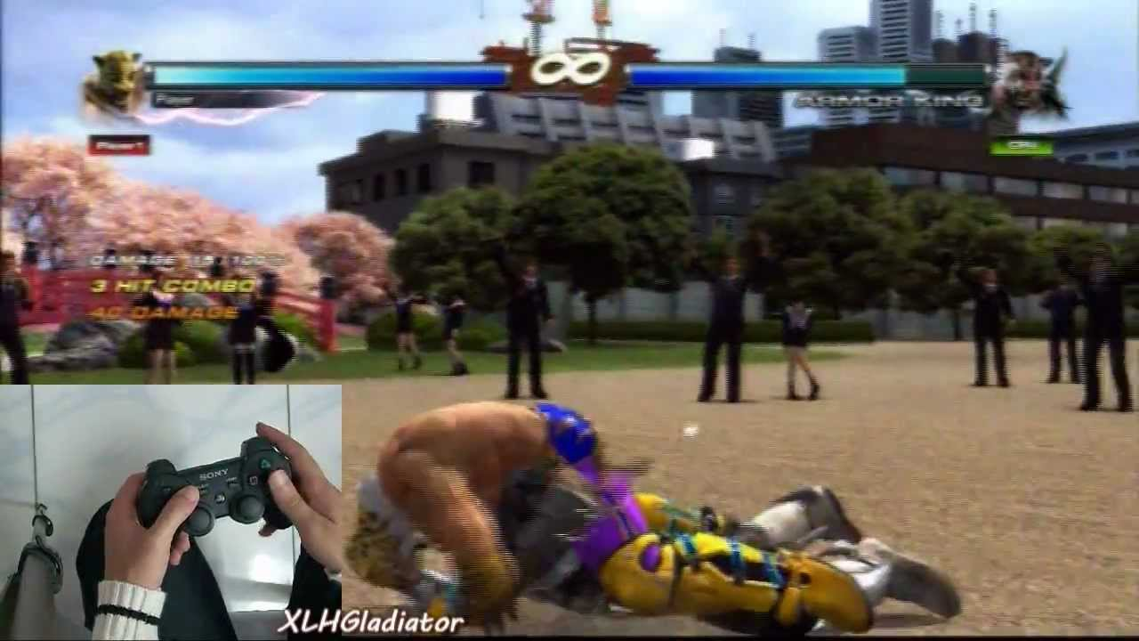 Tekken Tag Tournament 2 King All Grapple Chainthrow Combos