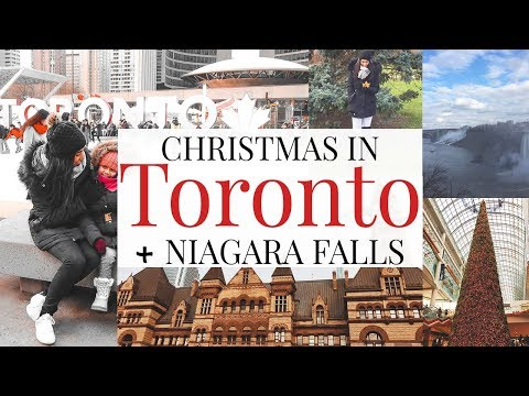CHRISTMAS IN TORONTO + NIAGARA FALLS! - Travel With Me!
