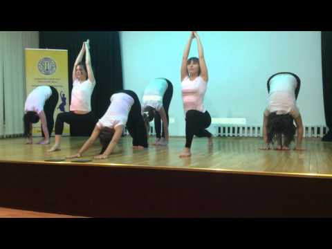 Yoga show Indian  Embassy 22 January 2016