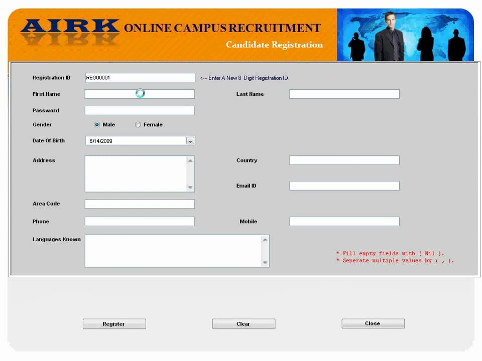 Online Campus Recruitment System Candidate Session Youtube