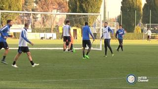 ALLENAMENTO INTER REAL AUDIO 26 10 2015