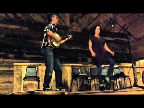 Oldtimey Dancing & Singing Abby Ladin with Sam Bartlett on banjo