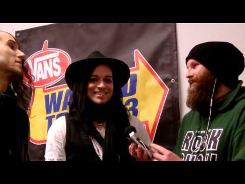The Defiled Interviewed Vans Warped Tour Nov 2013