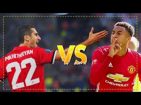 Jesse Lingard vs Henrikh Mkhitaryan - Battle 1st Place - Manchester United 2017/18 | HD