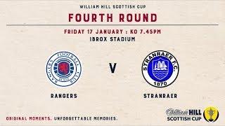 Rangers 2-0 Stranraer | William Hill Scottish Cup 2019-20 – Fourth Round