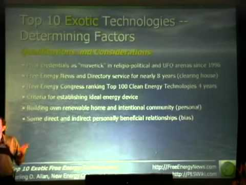 Solution Top 10 Exotic Free Energy Devices Part 3