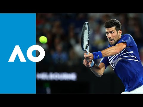 Novak Djokovic v Daniil Medvedev third set highlights (4R) | Australian Open 2019