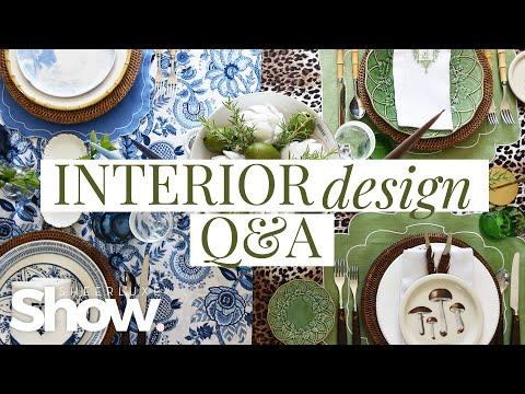 Interior Design Q&A: Budget-Friendly Ideas & Interior Design Tips To Decorate | SheerLuxe Show