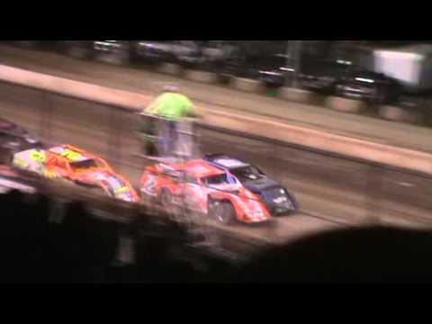 The Big IMCA Mod Wreak at Shawano Speedway 4/30/16. Wreck Starts at 2:55 Mark