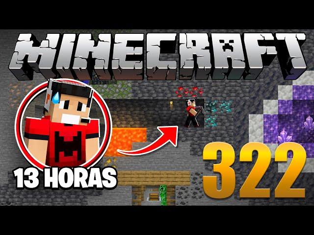 Minerei por 13 HORAS na Nova Geração do Minecraft - Em busca da casa automática #322