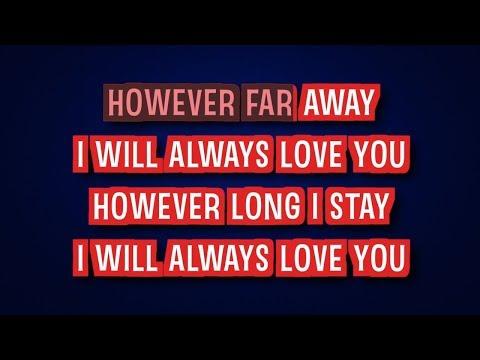 Lovesong Acoustic Version  Adele  Karaoke LYRICS