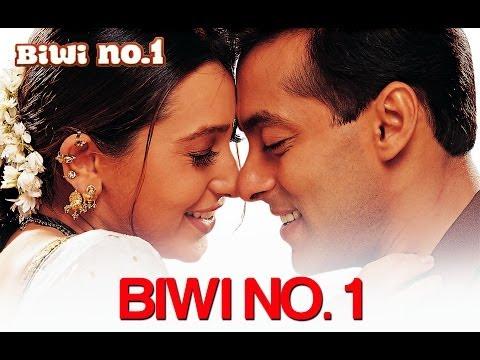 Biwi No. 1 [Title Track] Salman Khan \u0026 Karisma Kapoor | Abhijeet \u0026 Poornima | Anu Malik | 90's Hits