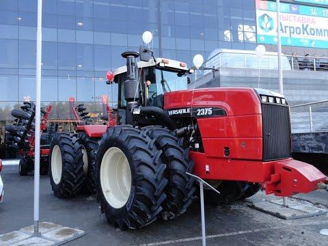 Подробно о тракторах и