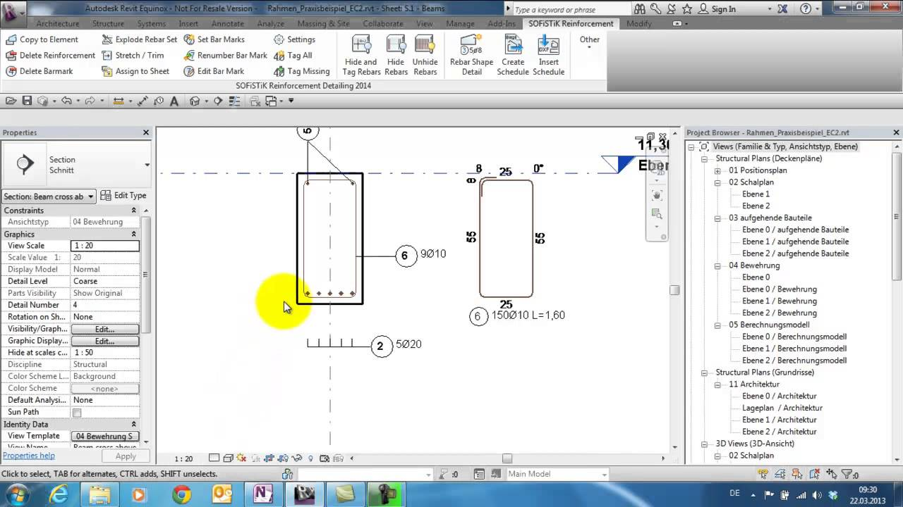 Reinforcement Detailing 2014: Rebar Shape Detail 1