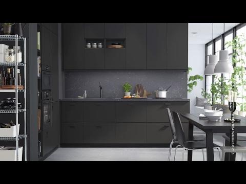 IKEA - KUNGSBACKA: Küche aus recycelten Materialien