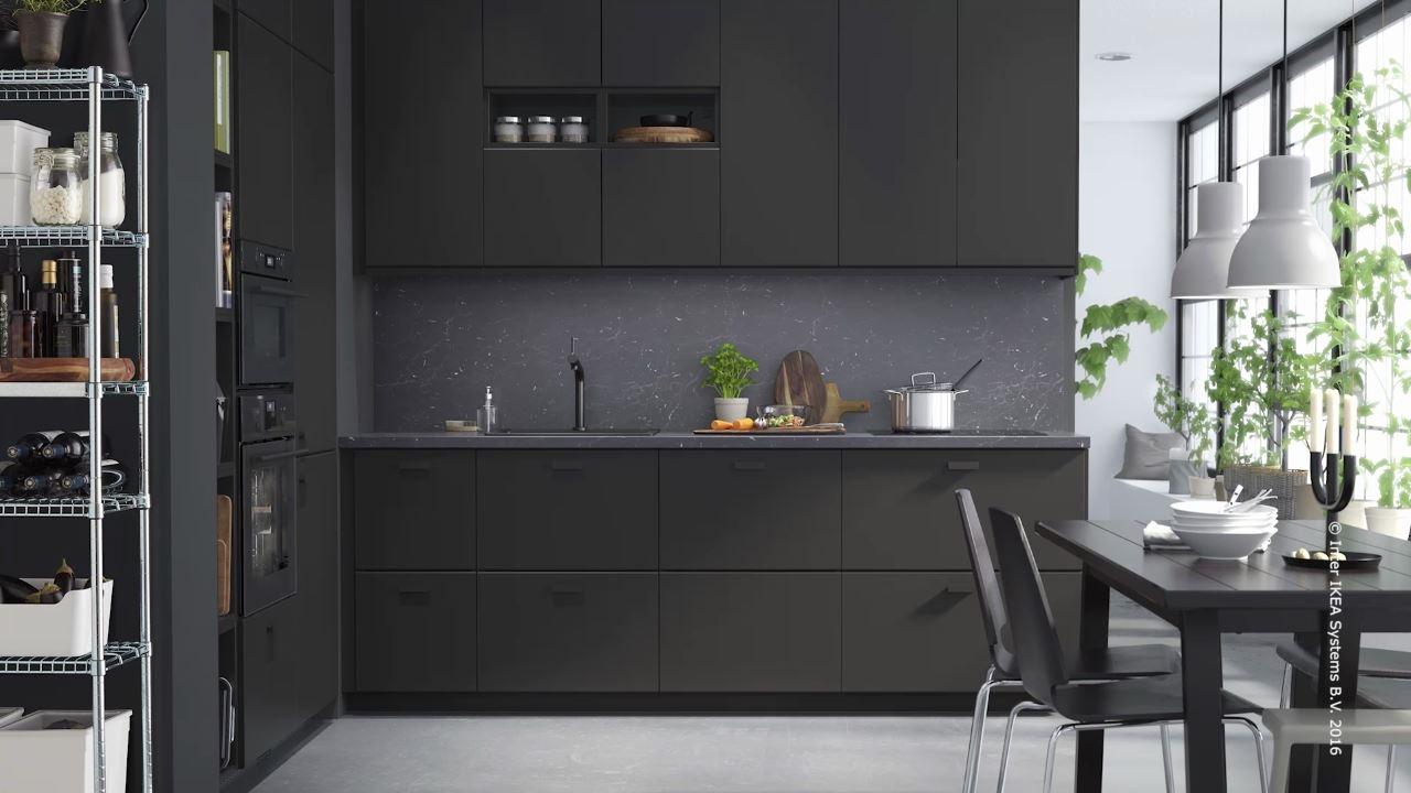 IKEA   KUNGSBACKA Küche aus recycelten Materialien   YouTube