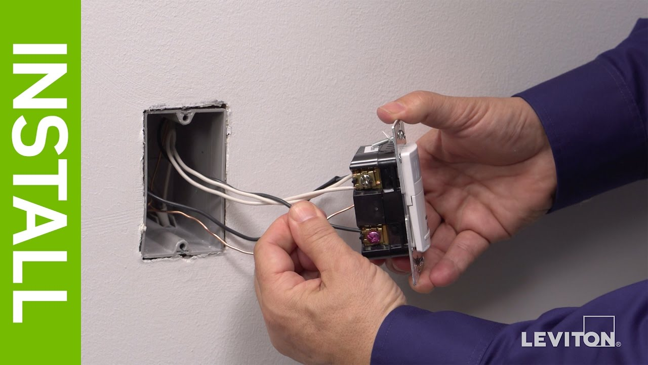 leviton presents how to install the iphs5 humidity sensor fan leviton fan switch wiring diagram [ 1280 x 720 Pixel ]
