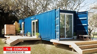 The Conchs: Airbnb Container Home Rentals In Carolina Beach, North Carolina