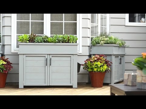 How to Build a Planter with Hidden Storage