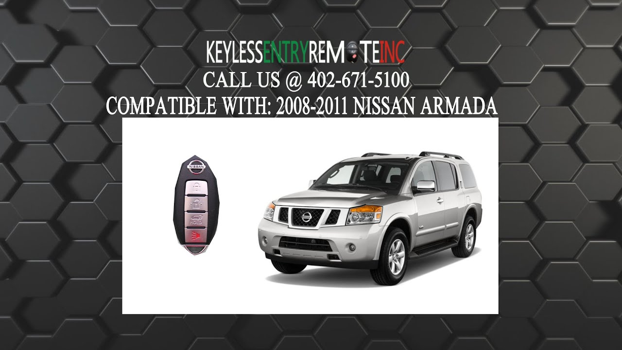 How To Replace Nissan Armada Key Fob Battery 2007 2013