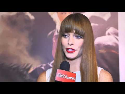 Chloe Hurst at the Premiere of Kurmanjan Datka Queen of the Mountains