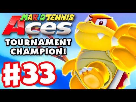 Mario Tennis Aces - Gameplay Walkthrough Part 33 - Boom Boom! Online Tournament! (Nintendo Switch)