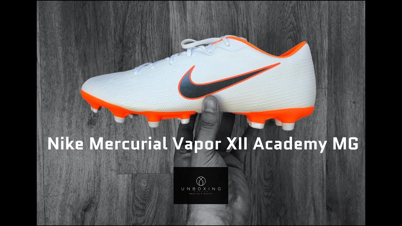 cb3a51ebbc38e Nike Mercurial Vapor XII Academy MG 'Just Do It Pack' | UNBOXING & ON FEET  | football boots | 4K