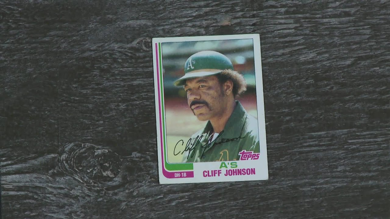 Baseball Card Theater Not Cliff Johnson T Sean Shannon