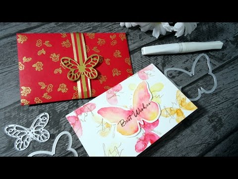Chinese Red Packet/Envelope and card for wedding - Hongbao(红包) Money_Holder#01_2016