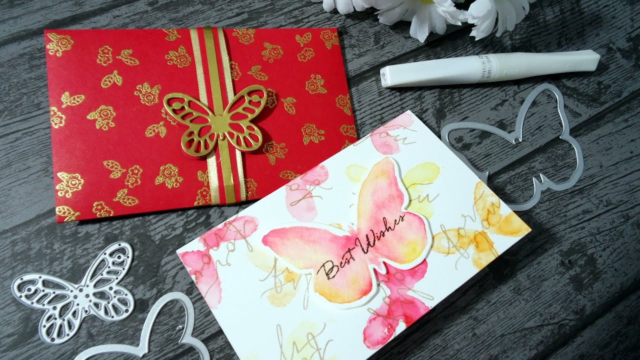 Chinese Red Packet/Envelope and card for wedding - Hongbao(红包 ...