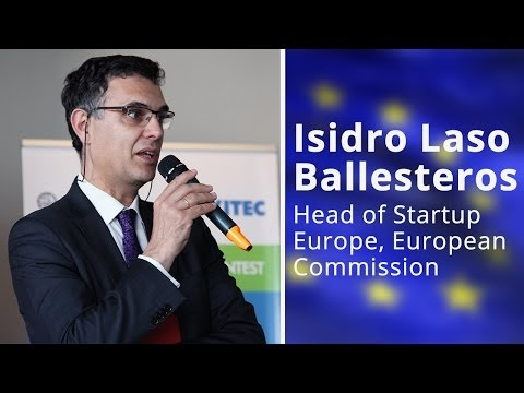 SEP Matching Event, Naples - Startup Europe Presentation