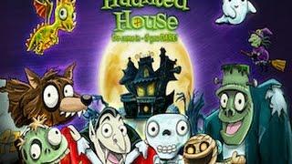 Haunted House ~ 3D Pop-Up Activity Book Part 1 - best app demos for kids