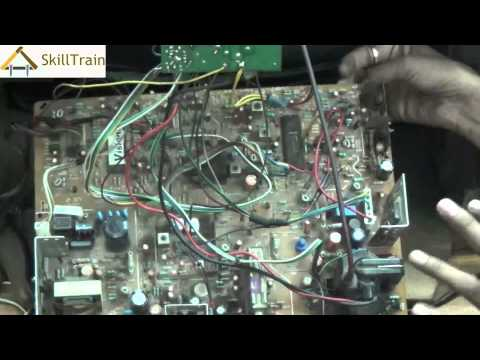 Understanding the internal components of a Colour TV (Hindi) (हिन्दी)