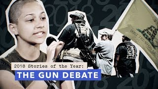 Parkland students, mass shootings and the NRA: the gun debate in 2018