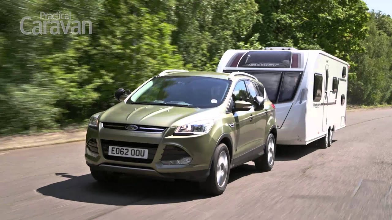 Ford Kuga Towing Capacity >> Practical Caravan Ford Kuga Review 2013 Youtube