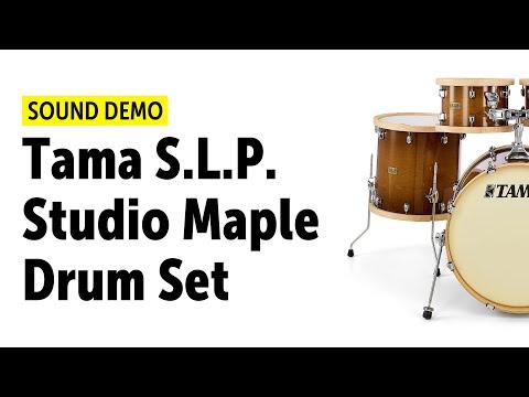 Tama S.L.P. Studio Maple Drumset - Sound Demo