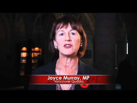 Lest We Forget, A Remembrance Day Message from MP Joyce Murray