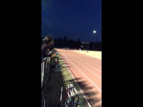 Trevor Whiting 100m Cross Creek high school