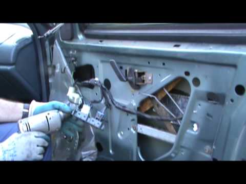 Power Window Motor Replace Shortcut Buick & other GMs
