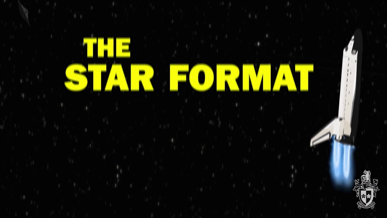 the star format tutorial the star format tutorial
