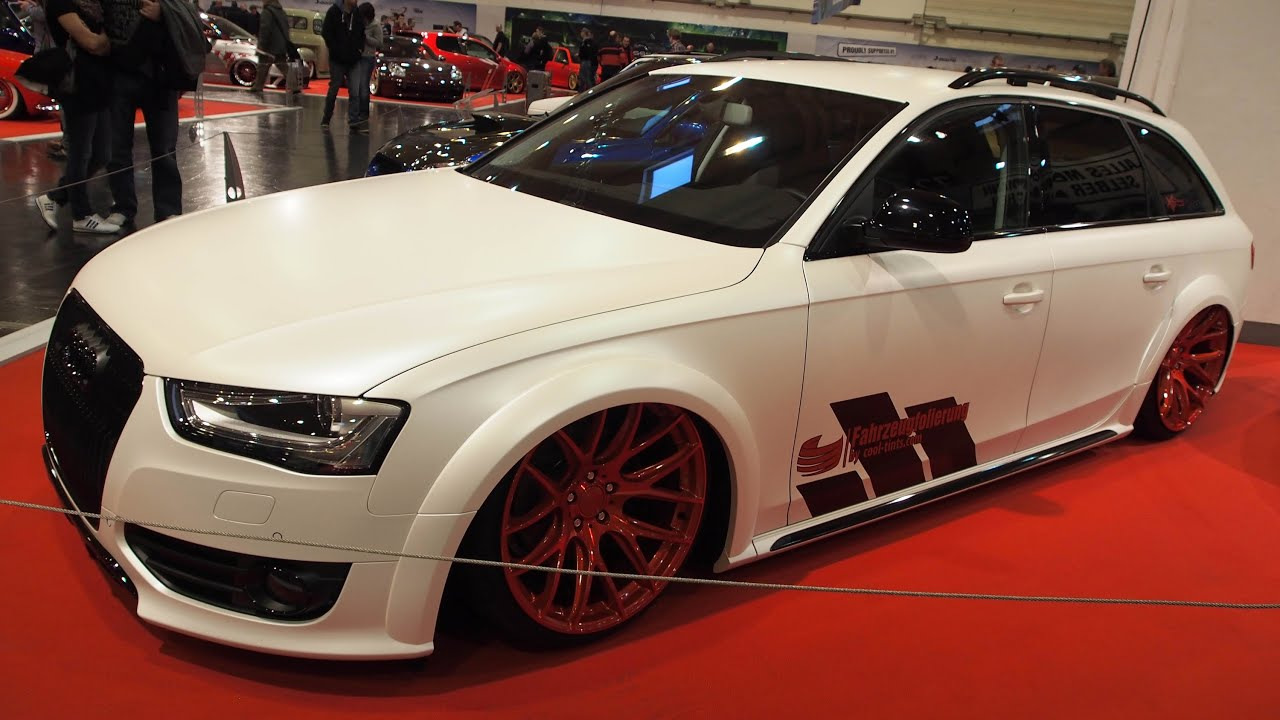 audi a4 allroad b8 tuning at essen motorshow exterior. Black Bedroom Furniture Sets. Home Design Ideas